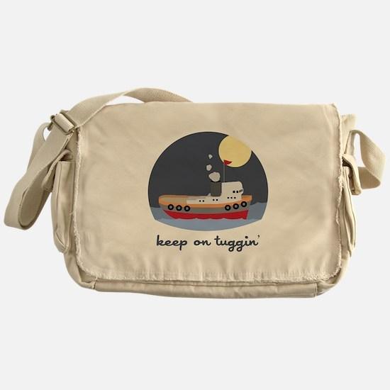 Keep On Tuggin Messenger Bag