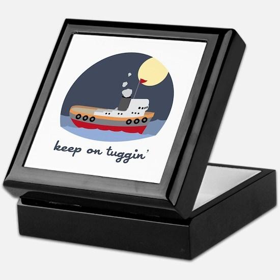 Keep On Tuggin Keepsake Box