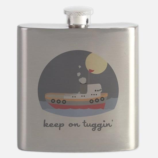 Keep On Tuggin Flask