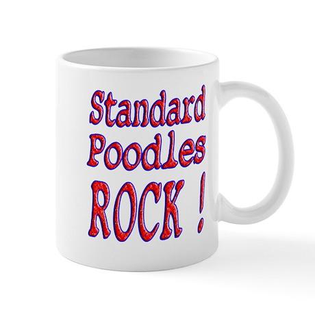 Standard Poodles Mug