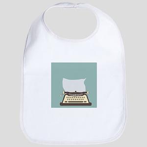 Typewriter Bib