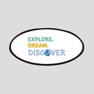 Explore,Dream,Discover Patches
