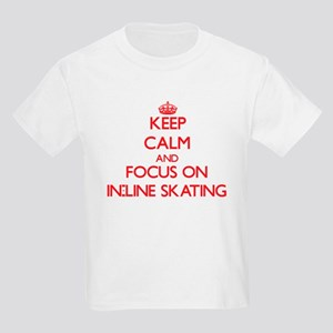 Keep Calm and focus on In-Line Skating T-Shirt