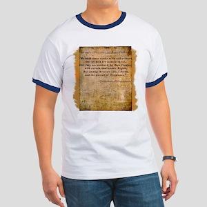 Declaration of Independence Ringer T