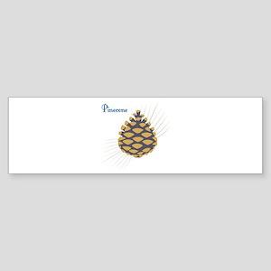 Pinecone Bumper Sticker