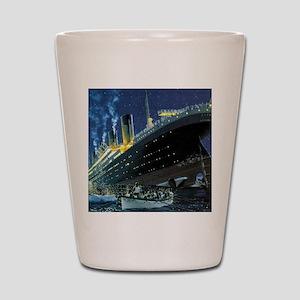 Titanic Shot Glass