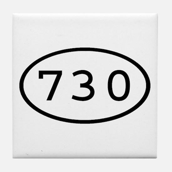 730 Oval Tile Coaster