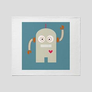 Robot Throw Blanket