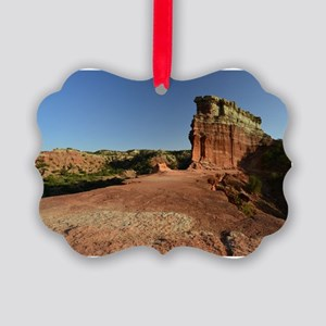 Rock Fin at Palo Duro Canyon Picture Ornament