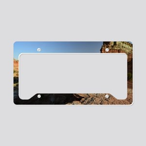 Rugged Palo Duro Canyon License Plate Holder