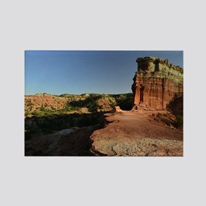 Rugged Palo Duro Canyon Rectangle Magnet