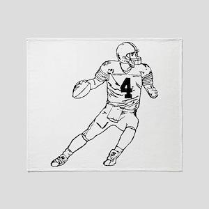 Quarterback Throw Blanket