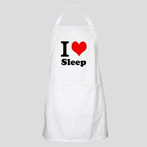 I Love Sleep Apron