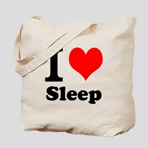I Love Sleep Tote Bag