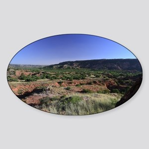 Southern Palo Duro Canyon Sticker (Oval)