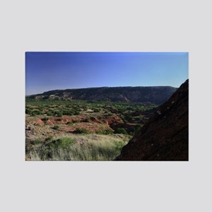 Southern Palo Duro Canyon Rectangle Magnet