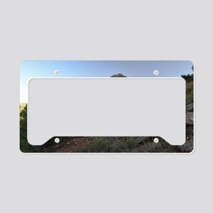 Balanced Rock License Plate Holder