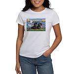 Sunrise Lilies / Doxie's Rule Women's T-Shirt