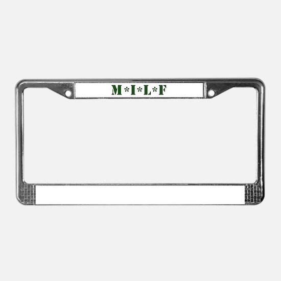 Unique Milf License Plate Frame