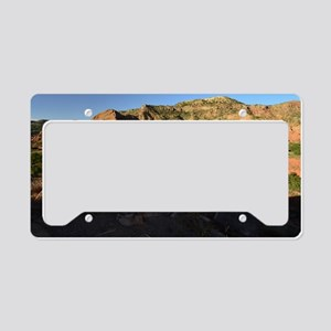 Afternoon Light on the Canyon License Plate Holder