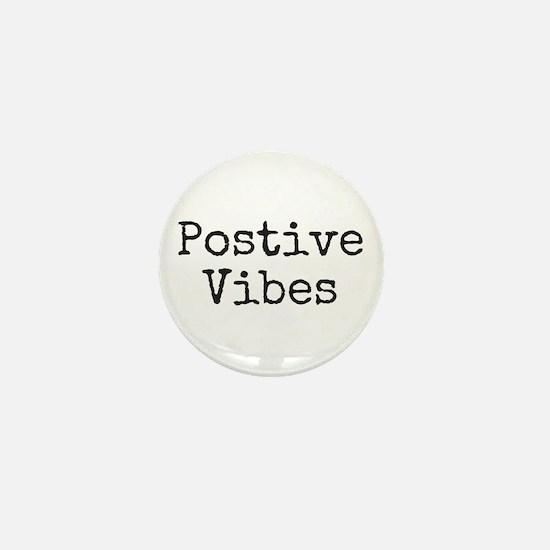 Cute Positive Mini Button