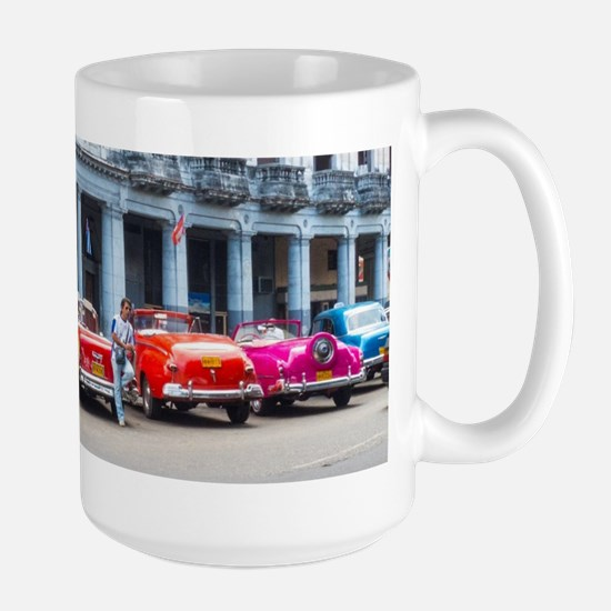 Cars of Havana Mugs