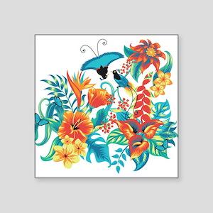 Tropical Flowers Sticker