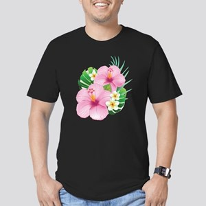 Dual Pink Hibiscus T-Shirt