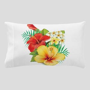 Tropical Hibiscus Pillow Case
