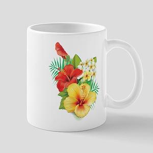 Tropical Hibiscus Mugs