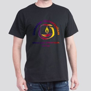 Rainbow Chalice_one faith Dark T-Shirt