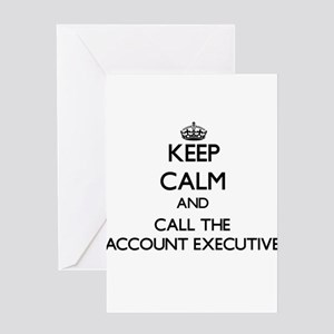 Account executive sales software greeting cards cafepress keep calm and call the account executive greeting m4hsunfo