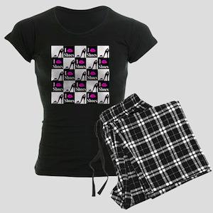 SHOE GIRL Women's Dark Pajamas