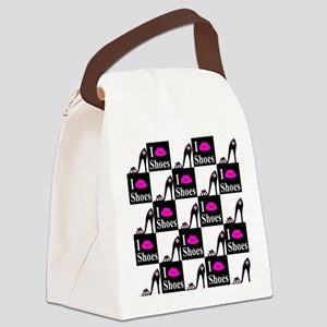 SHOE GIRL Canvas Lunch Bag