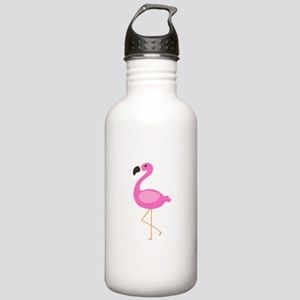Bubblegum Pink Flamingo Water Bottle
