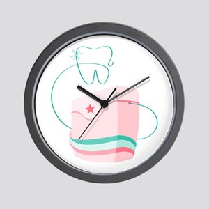 Dental Floss Wall Clock