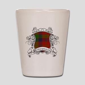 Robertson Tartan Shield Shot Glass