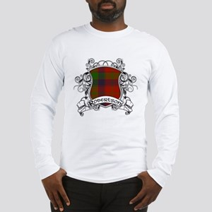 Robertson Tartan Shield Long Sleeve T-Shirt