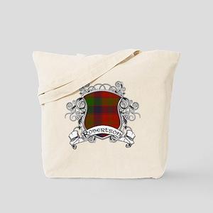 Robertson Tartan Shield Tote Bag