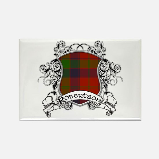 Robertson Tartan Shield Rectangle Magnet
