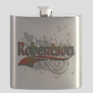 Robertson Tartan Grunge Flask