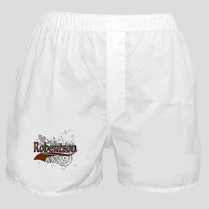 Robertson Tartan Grunge Boxer Shorts
