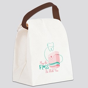 Floss be with You Canvas Lunch Bag