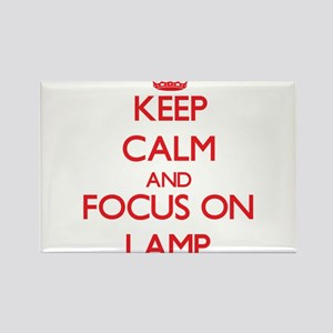 Keep Calm and focus on Lamp Magnets