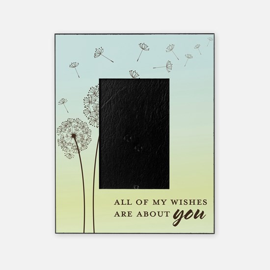 Dandelion Wishes Picture Frame