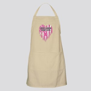 Love Laugh Fight Live Light Apron
