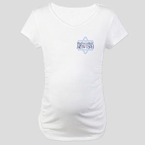 Messianic Jewish Definition Maternity T-Shirt
