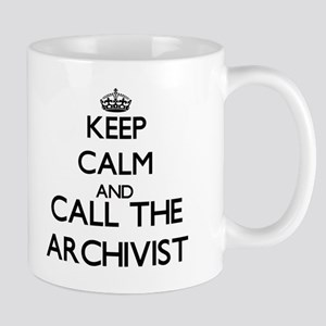 Keep calm and call the Archivist Mugs