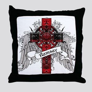 Ramsay Tartan Cross Throw Pillow