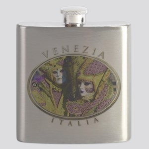 Colorful Couple Flask